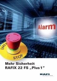 PDF Katalog Not-Aus Schalter RAFIX 22 FS - Rafi GmbH