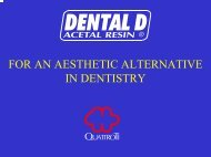 FOR AN AESTHETIC ALTERNATIVE IN DENTISTRY - Quattroti