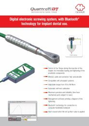 Digital electronic screwing system, with Bluetooth® technology for ...