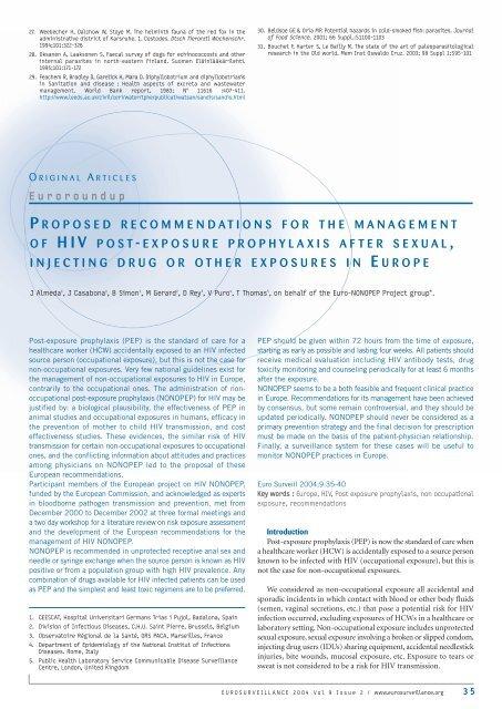 Post exposure prophylaxis after sexual exposure