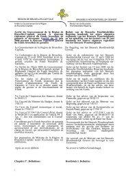 Het Besluit van 20 juni 2013 - EcoSubsiBru