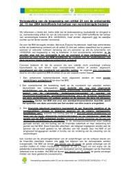 Versoepeling van de toepassing van artikel 23 van ... - EcoSubsiBru