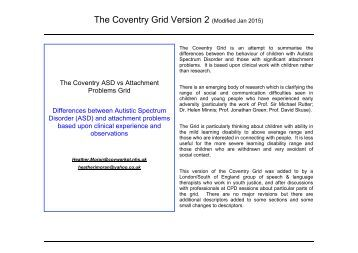 The Coventry Grid Version 2