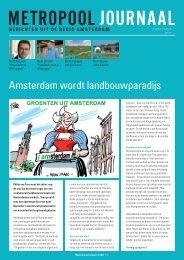 Amsterdam wordt landbouwparadijs