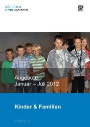 Kolibri plus - Evangelisch-reformierte Kirchgemeinde Dübendorf