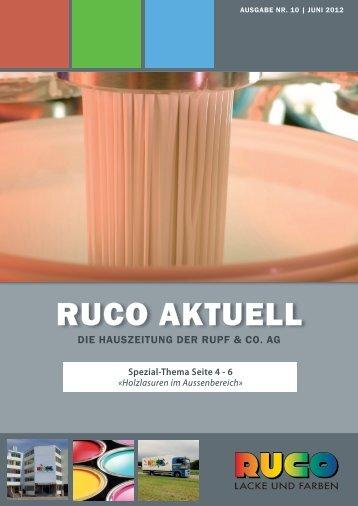Holzschutz - Ruco