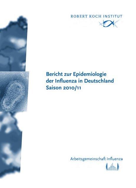 Bericht Zur Epidemiologie Der Influenza In Deutschland Saison