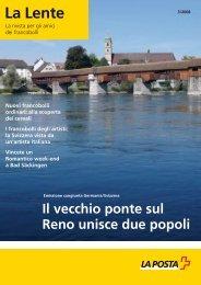 La Lente 03/2008 - Die Schweizerische Post