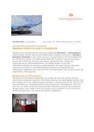 15/07/2011 Sandton Hotels nu ook in
