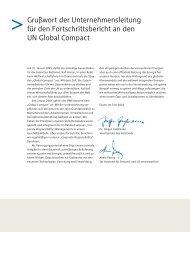 RWE Fortschrittsmitteilung an den UN Global Compact - RWE.com