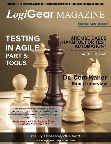 LogiGear Magazine - November 2010