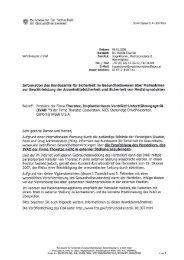 'k; Bundesamt für Sicherheit M ' im Gesundheitswesen - BASG