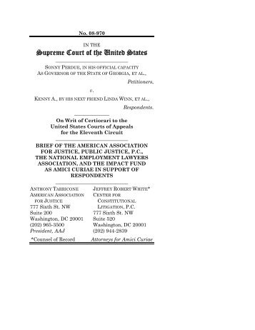 Supreme Court of the United States - Impact Fund