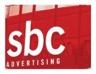 1 ©Copyright 2008 SBC Advertising Inc