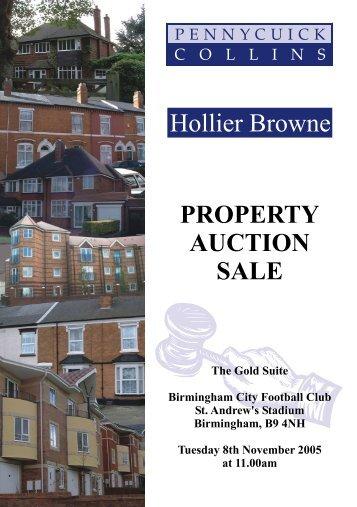 PROPERTY AUCTION SALE