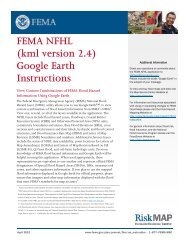 FEMA NFHL (kml version 2.4) Google Earth Instructions