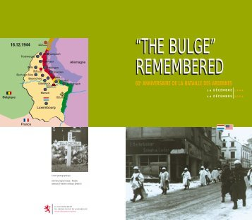 """REMEMBERED """"THE BULGE"""" REMEMBERED"""