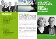 CONSTANTIA ROSENDORFER RUDOLF GRIESSER