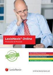 Produkte LexisNexis® Online - LexisNexis ARD Orac