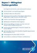 Bayern 1 – Mittagstour Franken genießen - Page 2