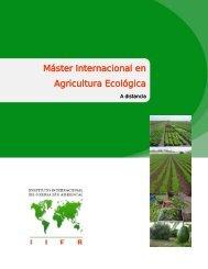 Máster Internacional en Agricultura Ecológica