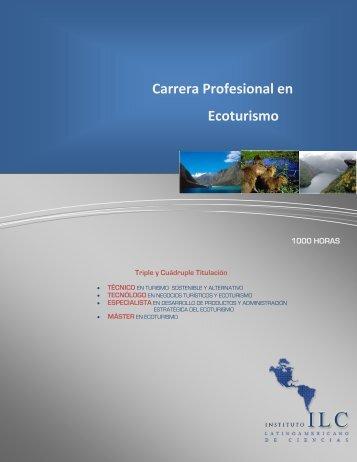 Carrera Profesional en Ecoturismo