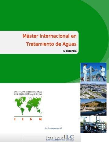 Máster Internacional en Tratamiento de Aguas