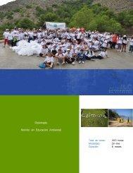 Diplomado Monitor en Educación Ambiental