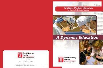 A Dynamic Education