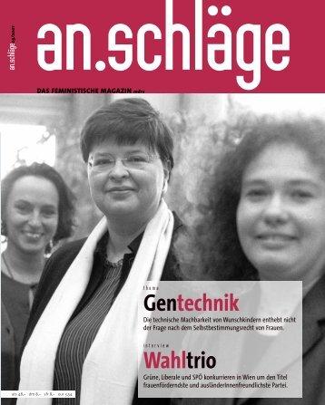 März 2001 (PDF) - an.schläge