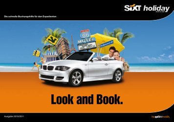 Look and Book. - Sixt