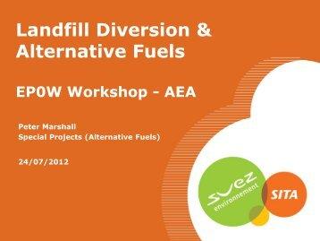 Landfill Diversion & Alternative Fuels