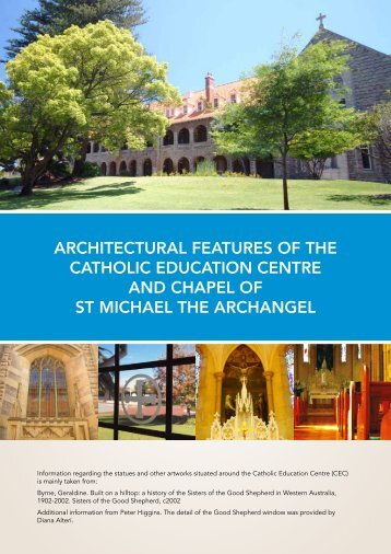 Architectural Features - Catholic Education Office of Western Australia