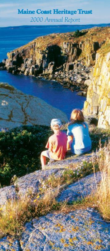 2000 Annual Report - Maine Coast Heritage Trust