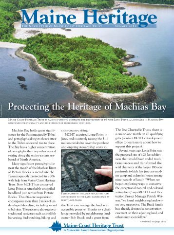 Download a PDF file of this newsletter for printing. - Maine Coast ...