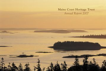 Maine Coast Heritage Trust Annual Report 2007