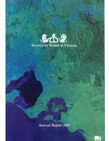 SBV Annual Report 2001