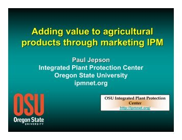 The components of IPM