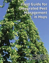Field Guide for Integrated Pest Management in Hops