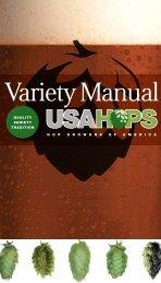 Variety Manual