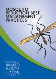 Mosquito Reduction Best management practices