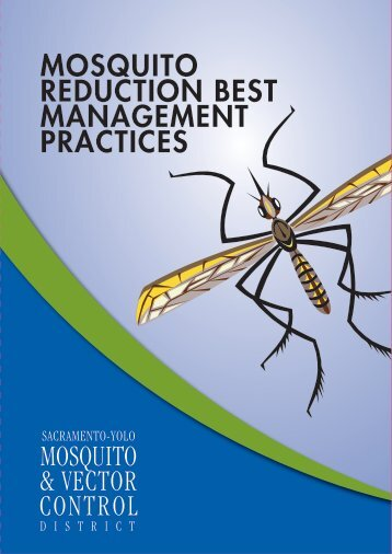Mosquito Reduction Best management practices