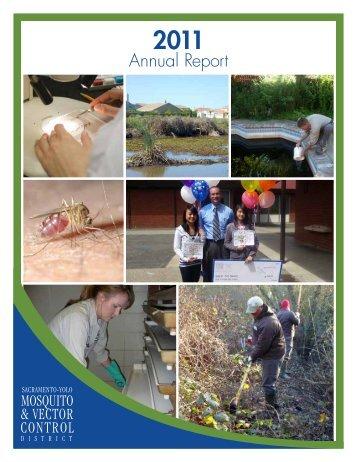 2011 Annual Report - Sacramento-Yolo Mosquito & Vector Control ...