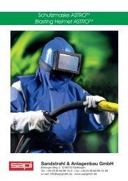Schutzmaske ASTRO Blasting Helmet ASTRO