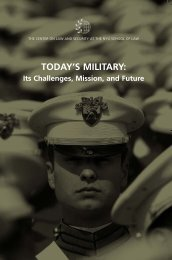 TODAY'S MILITARY