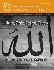LAW AND SECURITY