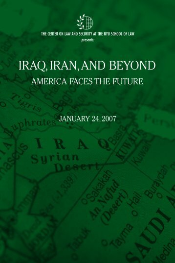 IRAQ IRAN,AND BEYOND