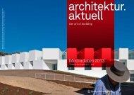 Mediadaten 2013 - Springer Architektur