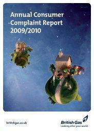 Complaint Report 2009/2010