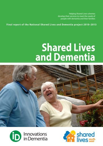 Shared Lives and Dementia